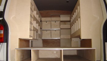 Full internal van racking