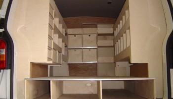 Full internal van racking