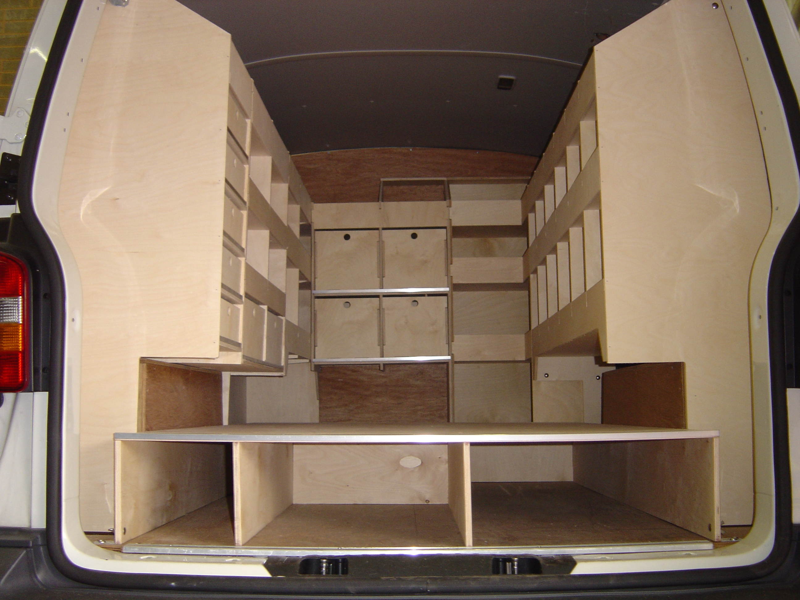 Internal Van Racking Exeter Van Guard Full Fit