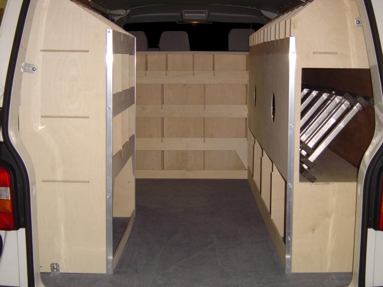 Van Racking Gallery - Van Guard Full Fit