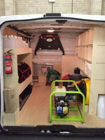 Internal Racking Things To Consider Part 1 Van Guard Full Fit