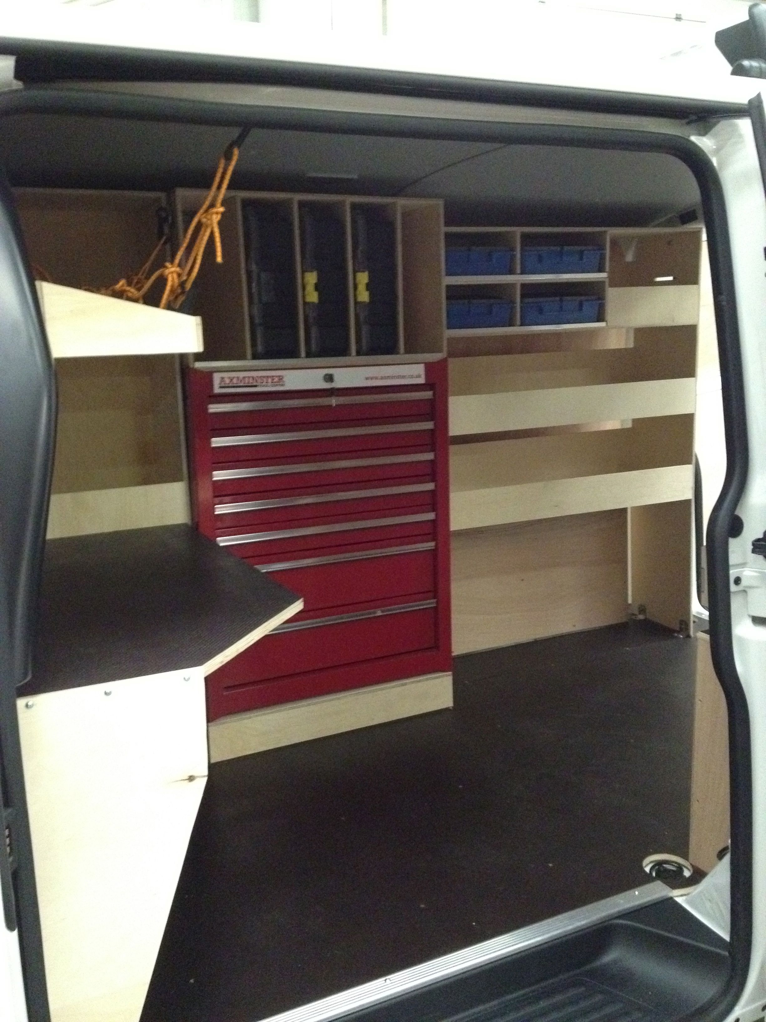 Van Racking Gallery Van Guard Full Fit