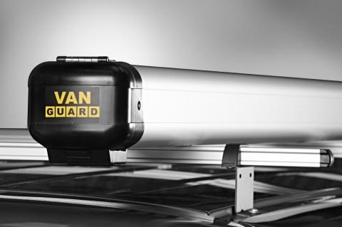Van Pipe Carriers fitted to van