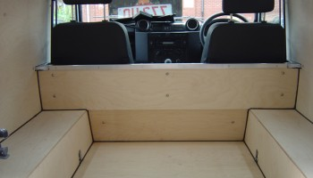 Land Rover 90 Bulkhead in birch ply wood