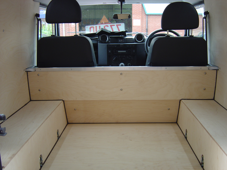 Ply lining gallery van guard full fit for Van ply lining templates