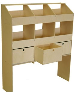 Rack that can be sent via mail order